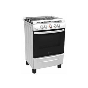 Midea Gas Cooker 20BMG4G007-W White