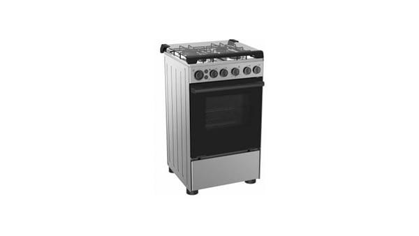 Midea 4 Burner Gas Cooker Black -20BMG4G007-S