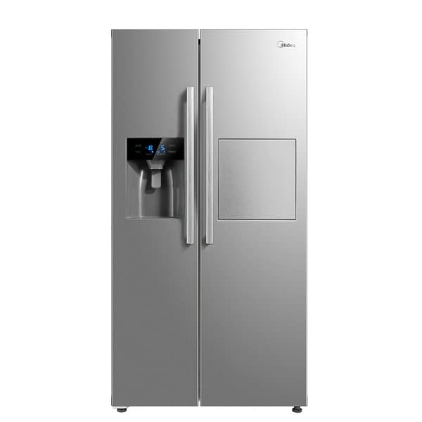 Midea 490 Litre Side-By-Side Refrigerator with Water and Ice Dispenser (HC-657WEN)