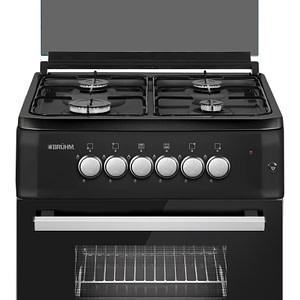 Bruhm 60*60cm ,4 Burner Gas Cooker (BGC-6640G2 BLACK)