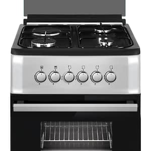Bruhm : 50*50, 3 Gas Burners + 1 Electric Cooker with Gas Oven (BGC-5531G2)