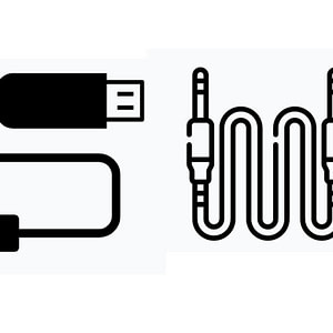USB ,HDMI cable ,Audio jack cable