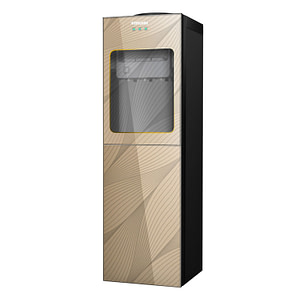3 Tap Water Dispenser With Fridge (BWD-HNC528R)