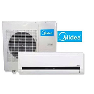 MIDEA SPLIT AC MSMA-18CRDN1 NORMAL VOLTAGE CAPACITY 12000BTU (INVERTER)-Free Installation Kit .3M