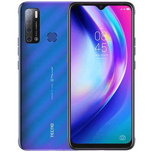Tecno Pouvoir 4 (LC7) 7 HD, 3GB RAM + 32GB ROM, 13MP Quad AI Camera, Android Q, 6000mAh, Fingerprint, Face ID, 4G - Cosmic