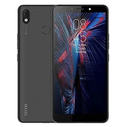 Tecno Pouvoir 3 Air LC6 - Dual - 16GB ROM - 4G LTE - 5000mAh - Face Unlock - Black