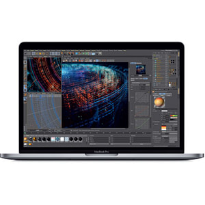 Apple MacBook Pro Core i5 8GB 512GB SSD 13.3 Inch MacOS Touch Bar Laptop - Silver MV9A2B/A